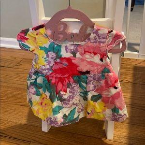 Floral Print Baby Gap Dress 12-18m